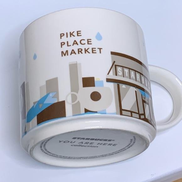 You are here Pike Place Market Starbucks mug